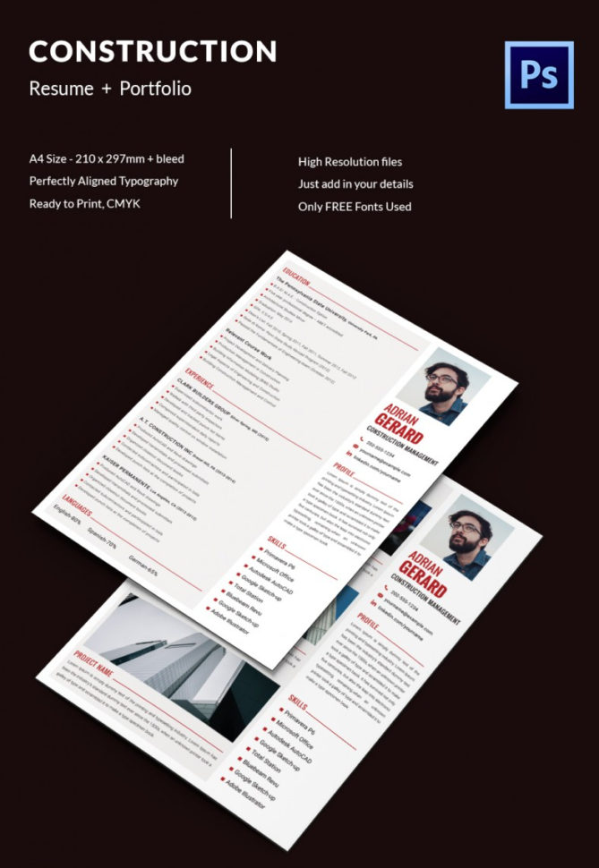Project Manager Resume Template   10  Free Word, Excel, Pdf Format For Project Management Templates Pdf