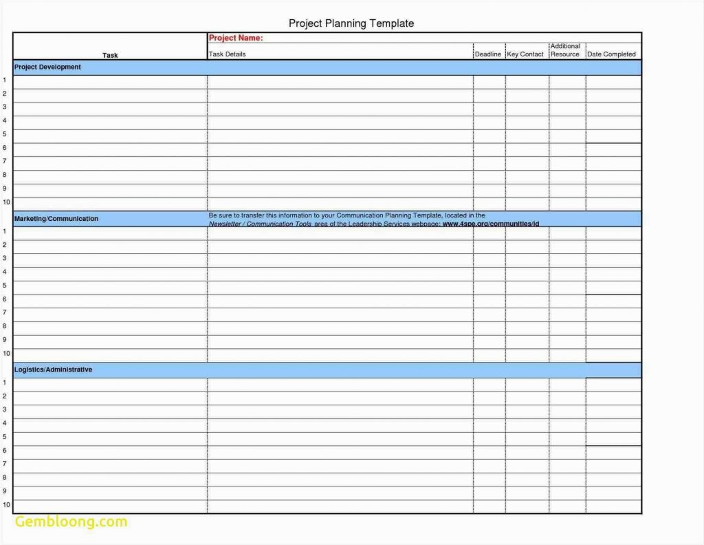 Project Planning Excel Template Free Download With Planner With Project Management Template Free Download
