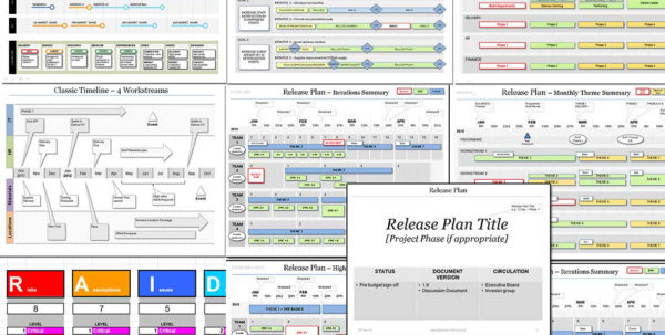Project Planning Template Discount Bundle. >65% Off With Project Management Templates Download
