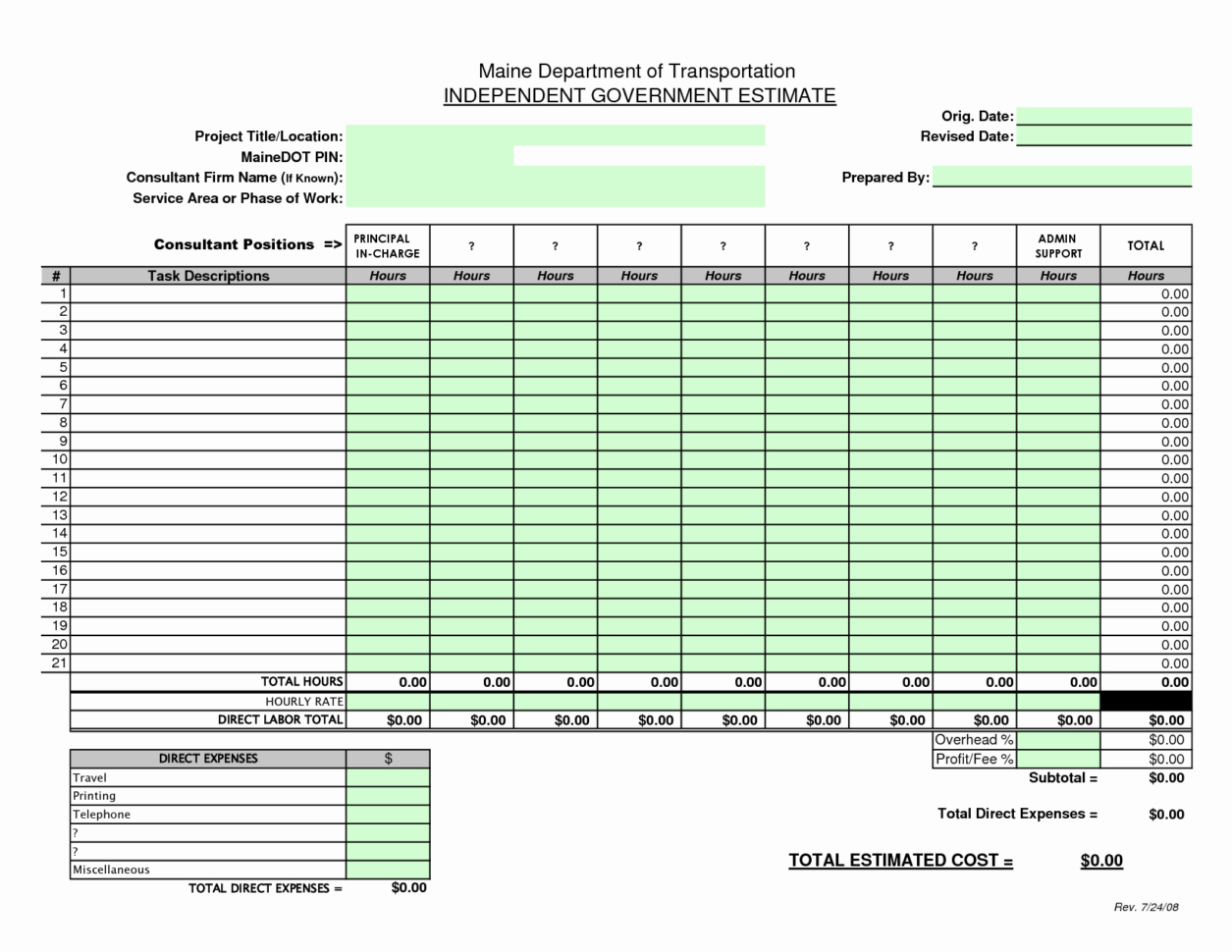 Quickbooks Proposal Templates Fresh Quickbooks Proposal Templates To Construction Estimate Proposal Template