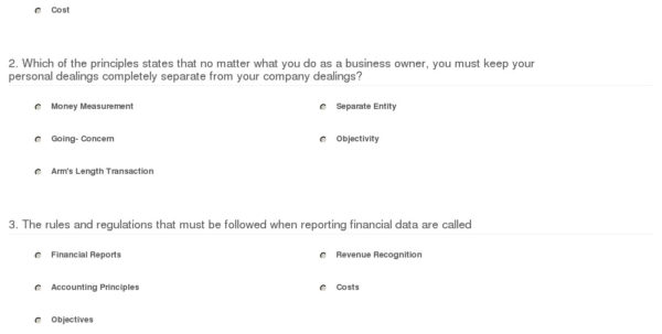 Quiz & Worksheet   The Fundamental Principles Of Accounting | Study With Accounting Worksheet