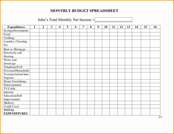 Realtor Expenseracking Spreadsheet For Business Monthly Expenses Within Monthly Spreadsheet Template