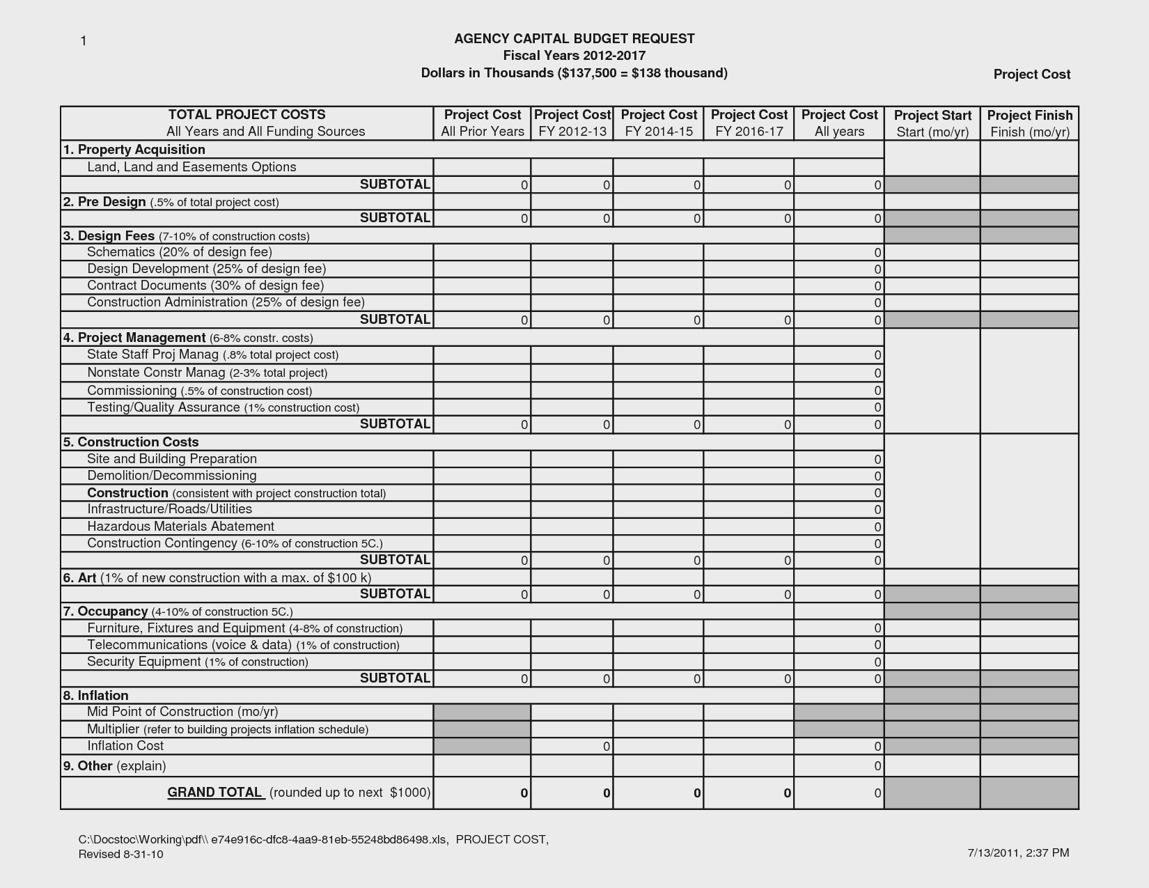 Renovation Project Management Spreadsheet Commercial Cost Estimator Inside Project Management Spreadsheet Template