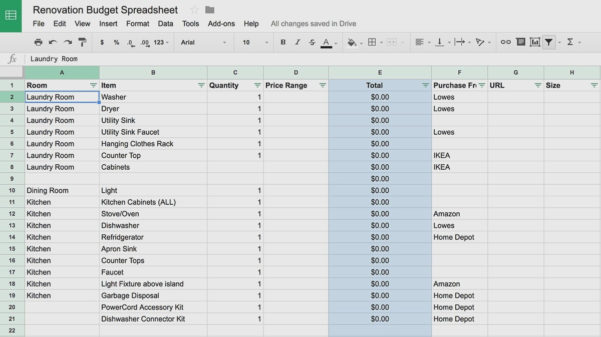 Renovation Project Management Spreadsheet Inspirational Example Of Intended For Renovation Project Management Spreadsheet