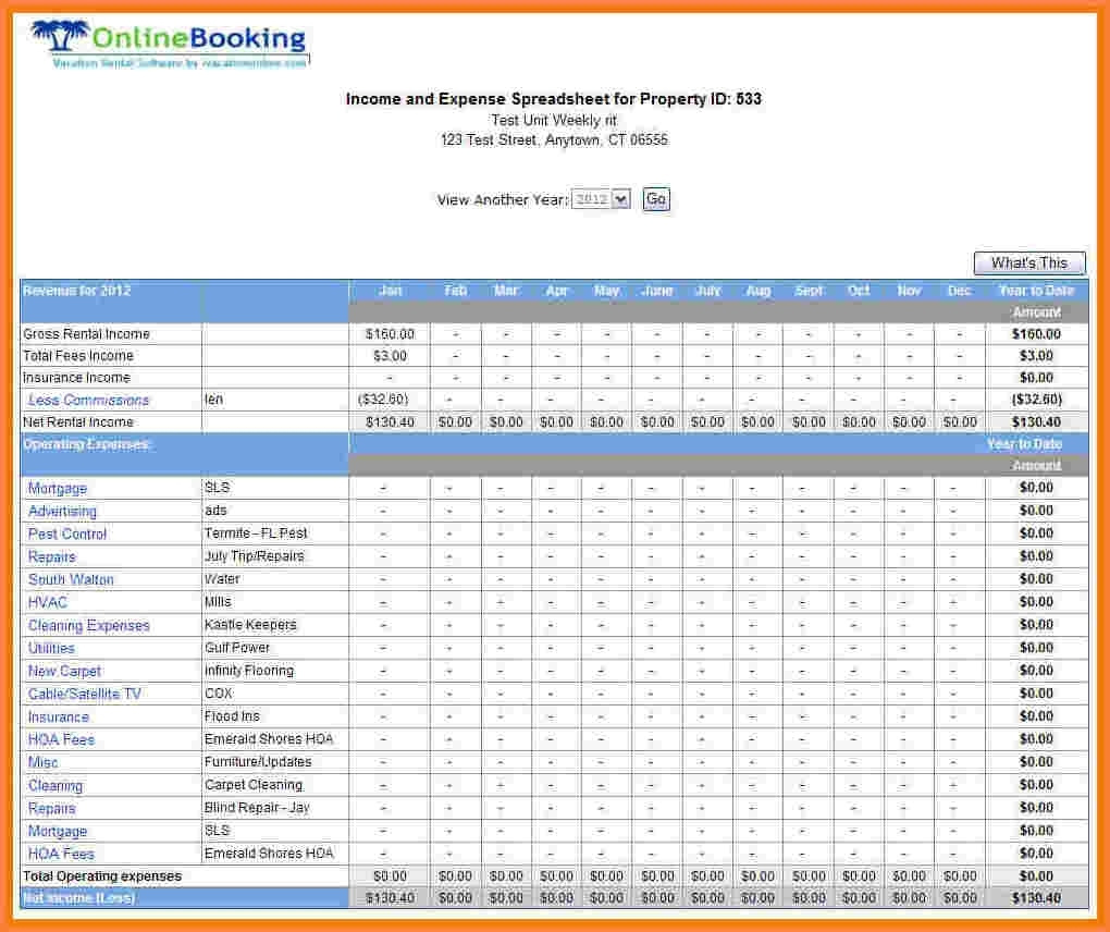 Rental Property Accounting Spreadsheet | Laobingkaisuo To Rental Inside Rental Bookkeeping Spreadsheet