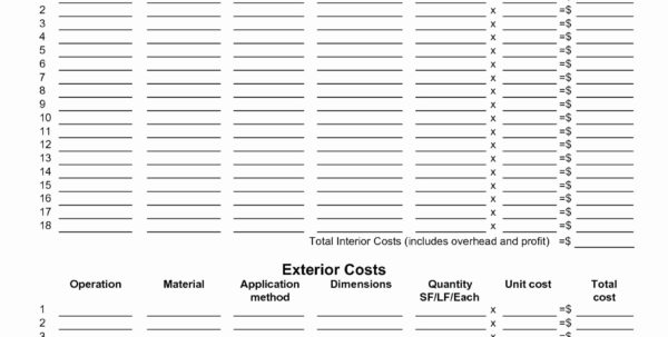 Residential Construction Budget Spreadsheet Fresh Residential With Residential Cost Estimate Template