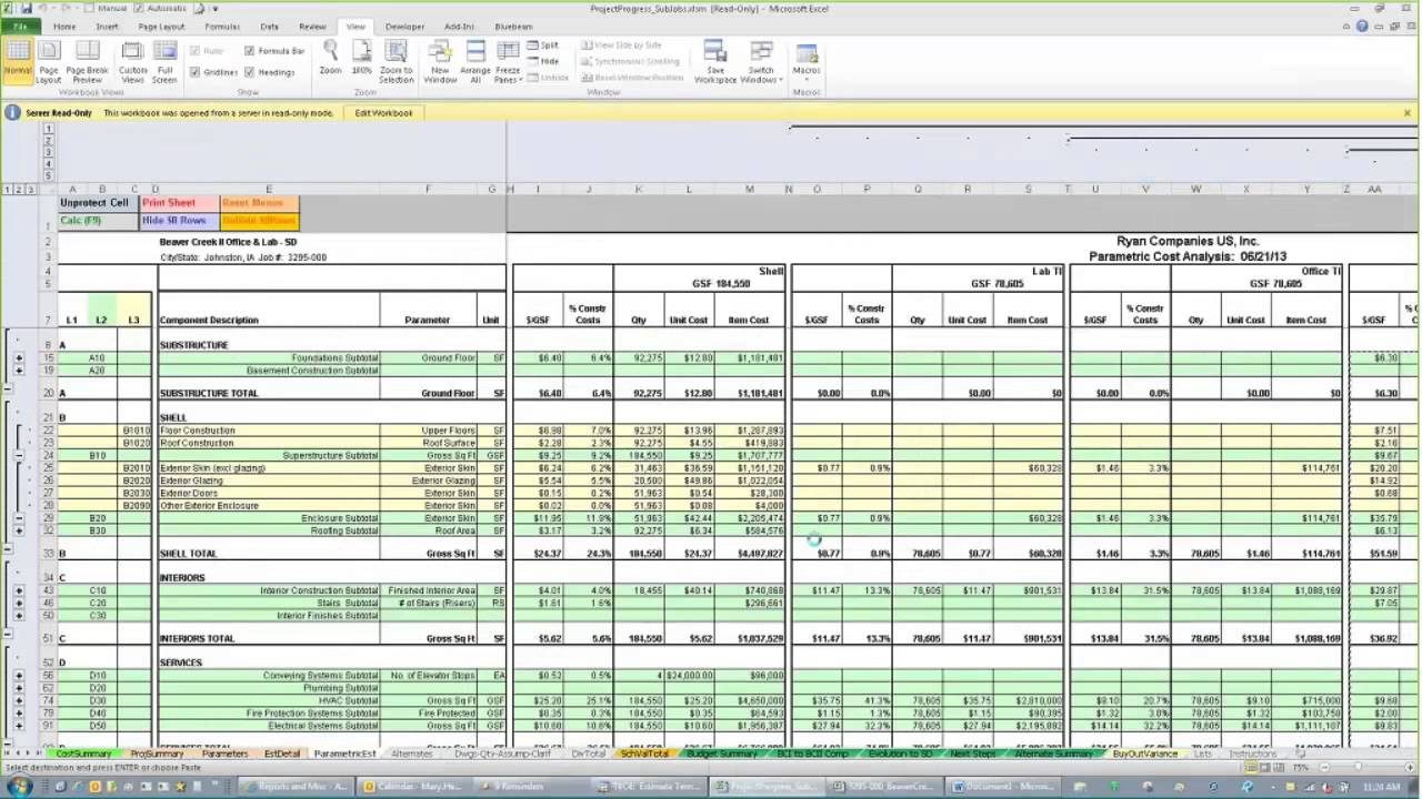 Residential Construction Cost Estimator Excel | Homebiz4U2Profit Inside Construction Estimating Spreadsheets Freeware