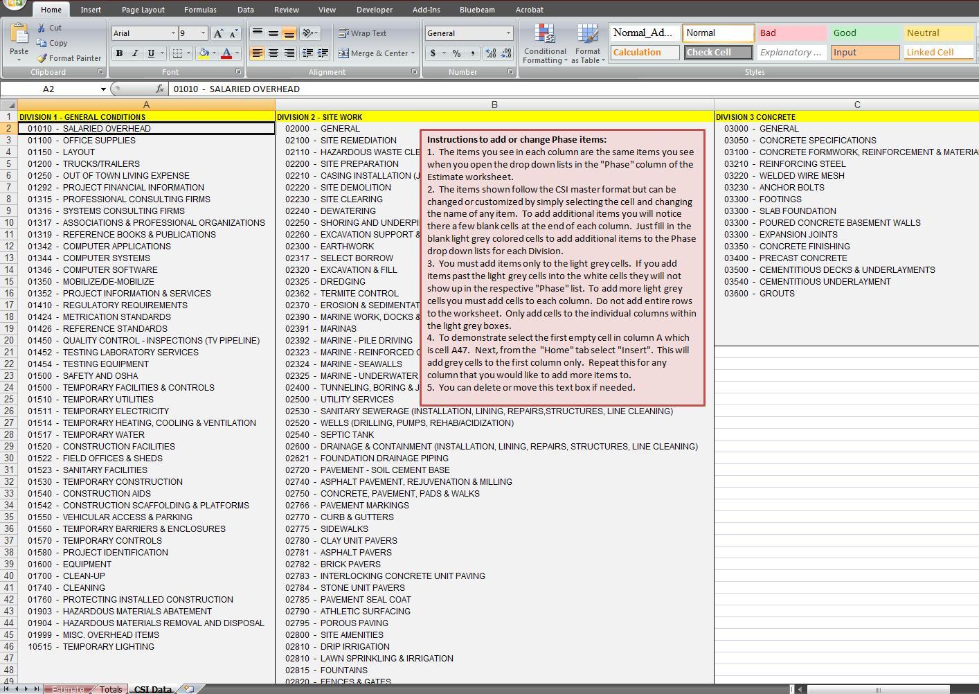 Residential Construction Cost Estimator Excel | Homebiz4U2Profit With Residential Construction Estimate Spreadsheet