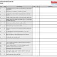 Restaurant Internal Control Checklist With Restaurant Bookkeeping Templates