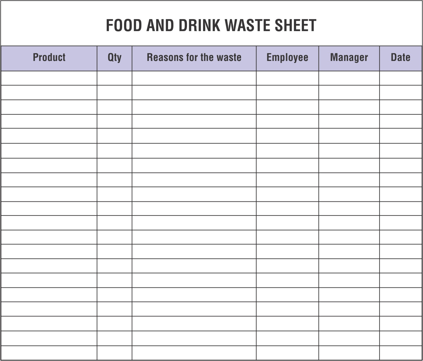 Restaurant Inventory Spreadsheets That You Must Maintain And Monitor With Restaurant Inventory Spreadsheet Template