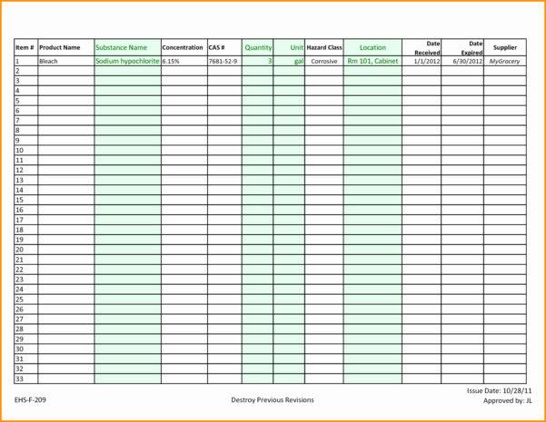 Restaurant Kitchen Inventory Template Fresh Restaurant Inventory With Restaurant Inventory Spreadsheet Template