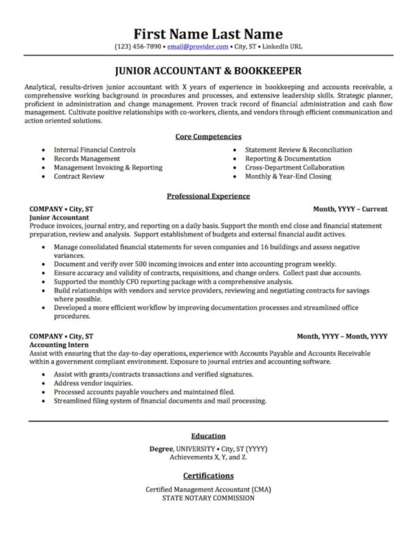 Resume : Accountant Accounting Resume Samples Wondrous Templates For With Bookkeeping Templates Pdf