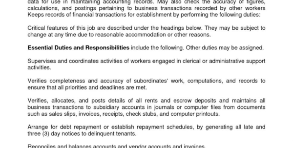 Resume : Bookkeeper Resume Sample Excellent Objective Junior Full And Bookkeeping Reports Samples