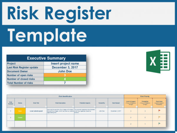 Risk Assessment Matrix Template Ppt Excel Ex Deloitte Consultant With Project Management Templates Ppt
