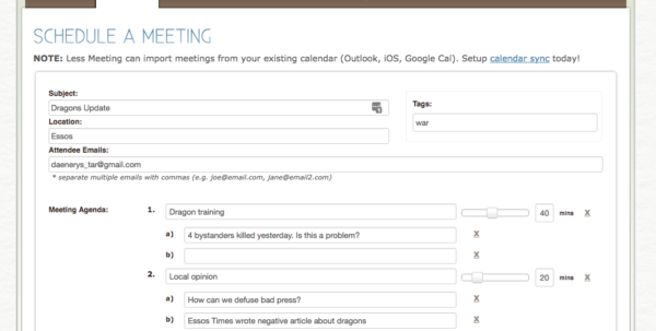 Run More Efficient Meetings: 15 Tools For Shared Agendas, Minutes Inside Project Management Meeting Templates