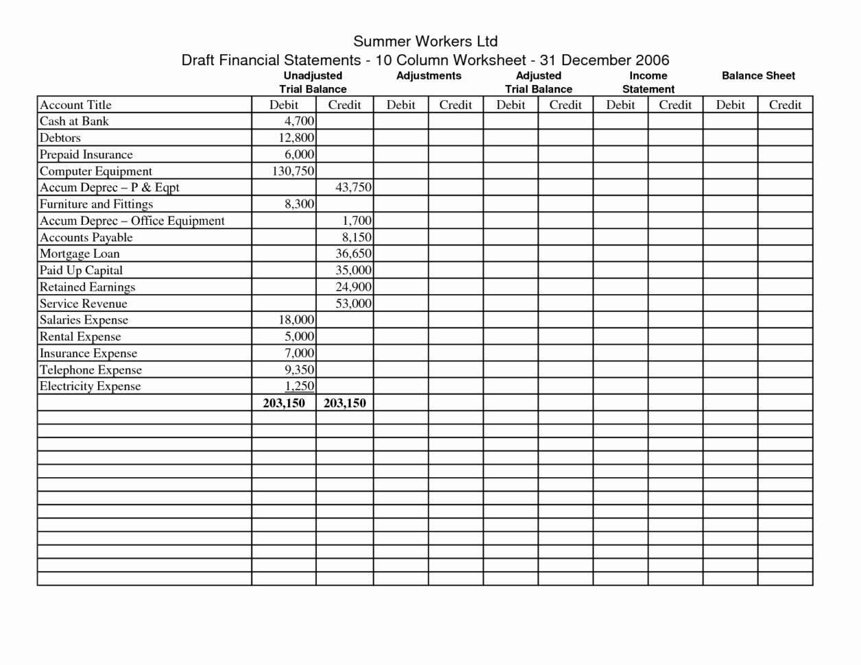 Salon Accounting Spreadsheet Luxury Amazing Worksheet Example Of Throughout Account Spreadsheet Templates