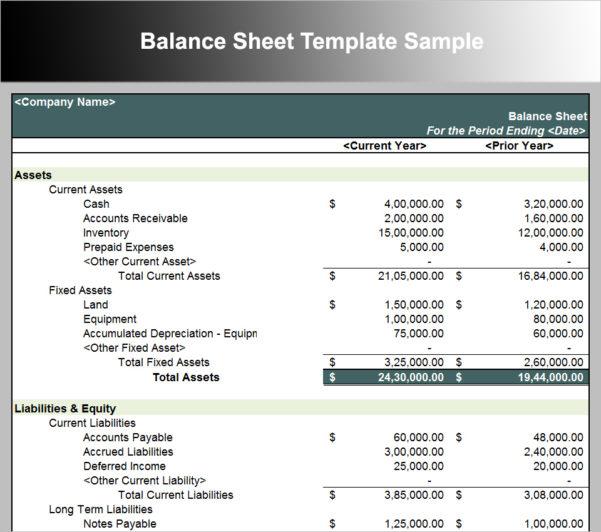 Sample Balance Sheet Free Template | Papillon Northwan Throughout Sample Spreadsheet Template
