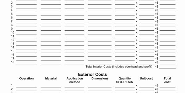 Sample Construction Cost Estimate Template Excel Best Of Estimating And Construction Project Cost Estimate Template Excel