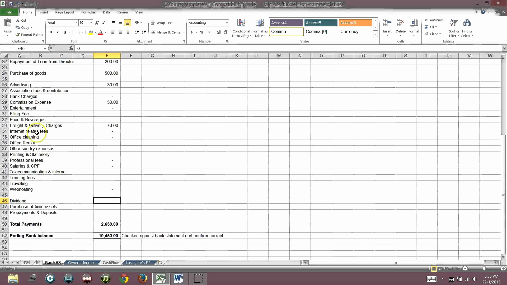 Sample Excel Accounting Spreadsheet Fresh Simple Bookkeeping Excel Throughout Simple Bookkeeping Spreadsheet Excel