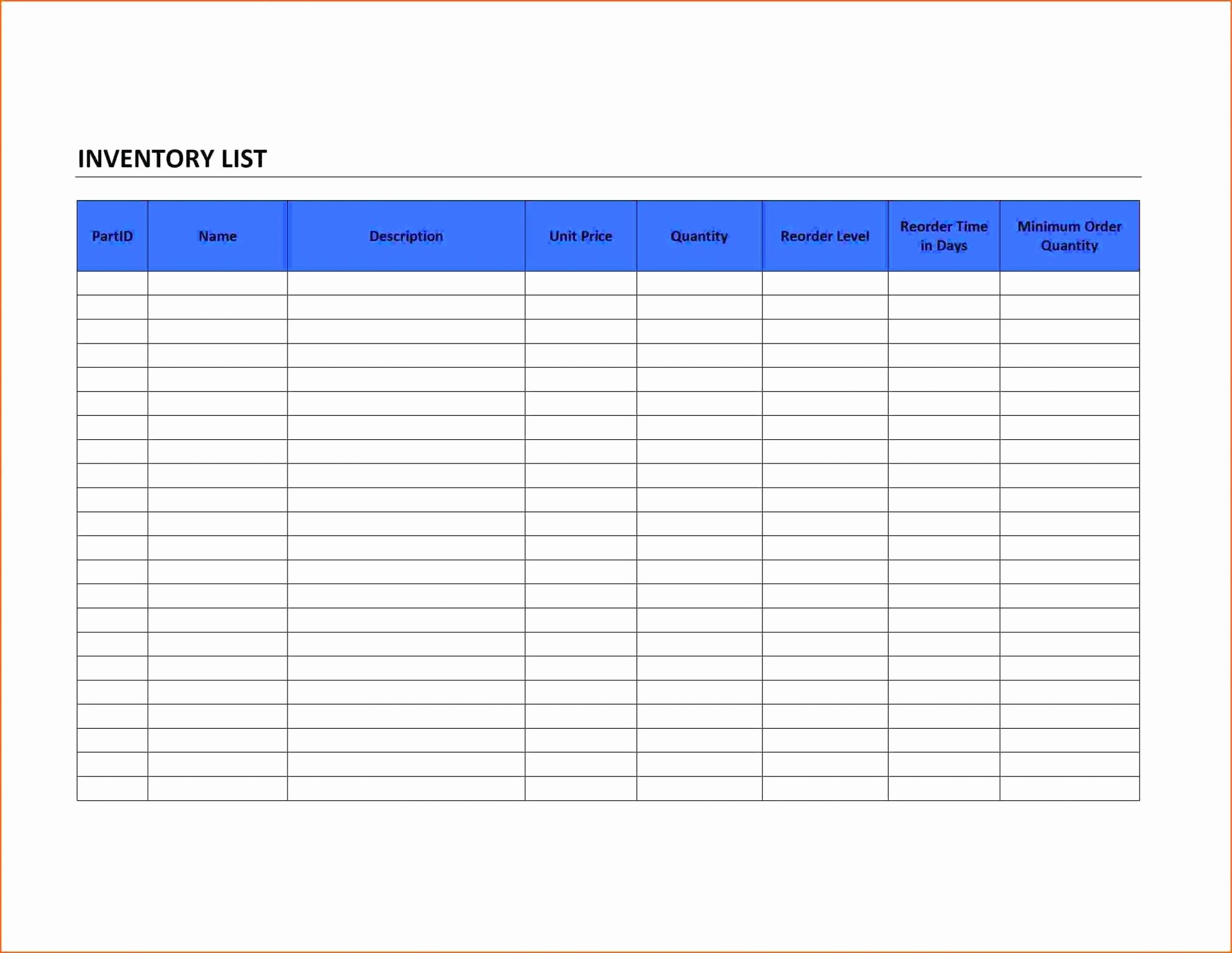 Sample Excel Inventory Spreadsheets As Wedding Planning Spreadsheet For Sample Inventory Spreadsheet