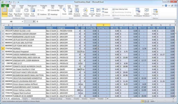 Sample Excel Spreadsheet   Resourcesaver Within Sample Excel Spreadsheet