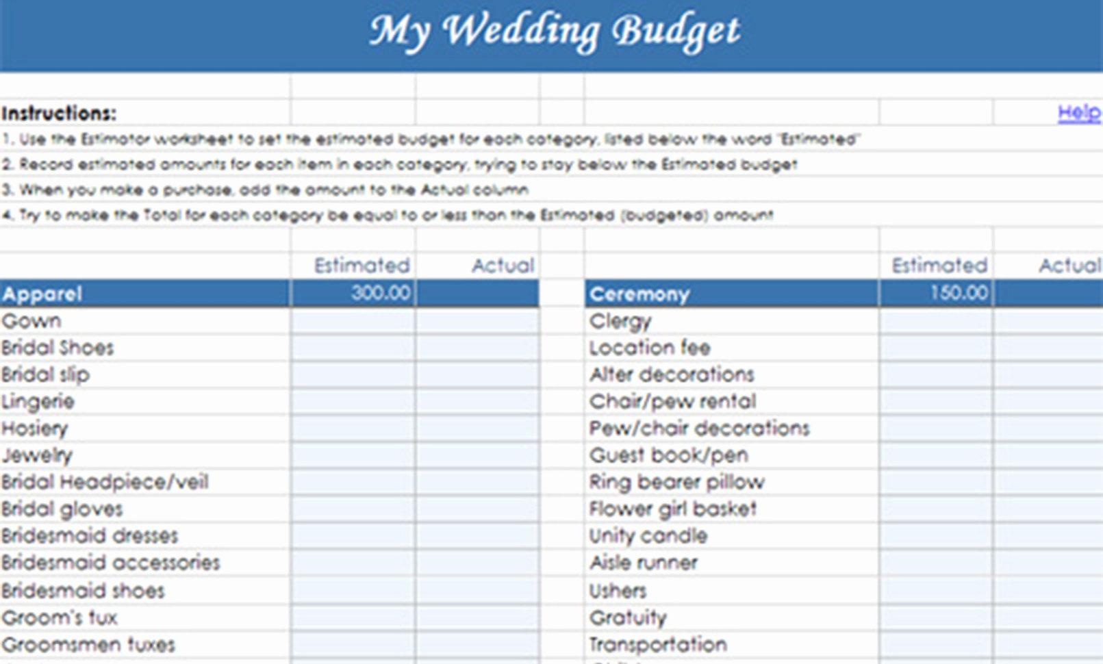 Sample Wedding Budget Spreadsheet Easy Excel Template Savvy To Sample Wedding Budget Spreadsheet