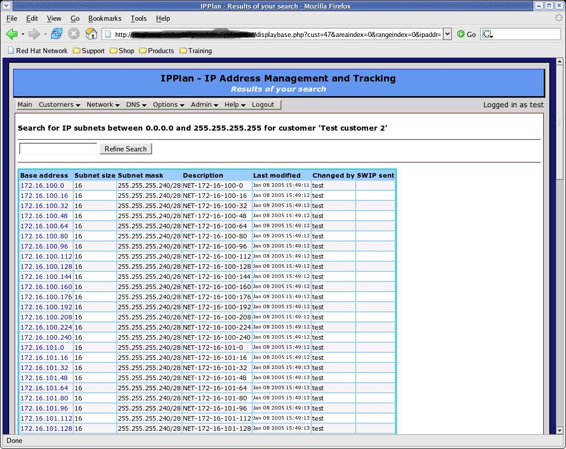 Screenshots [Ip Address Management And Tracking] Intended For Ip Address Spreadsheet Template