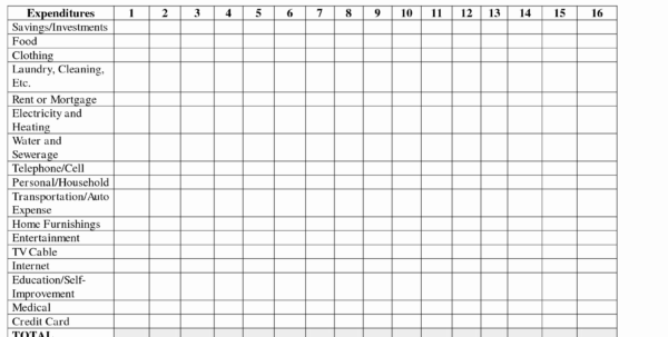 Self Employed Expenses Spreadsheet Beautiful Excel Sheet For Monthly Within Monthly Expense Spreadsheet Template