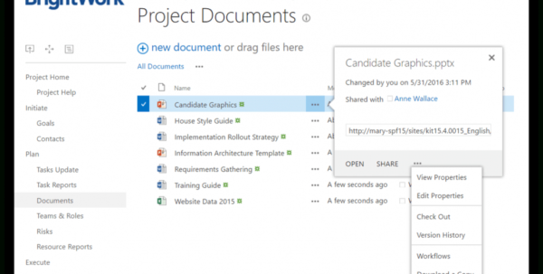 Sharepoint Foundation 2013 Project Management Template 5 Ways To Inside Project Management Templates For Sharepoint