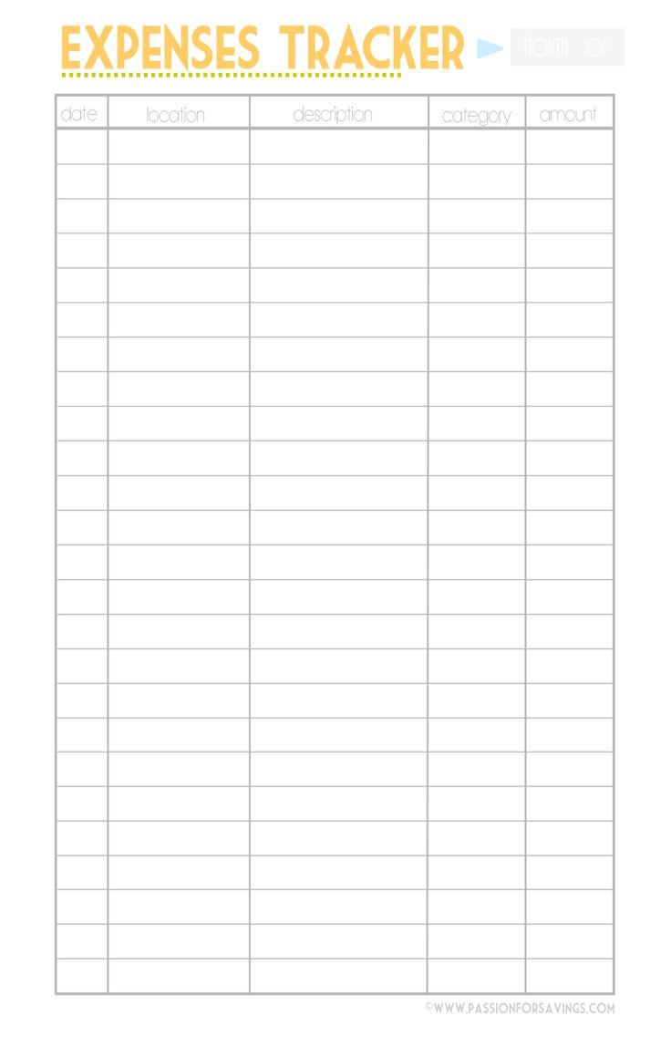 Simple Spending Tracker Spreadsheet | Papillon Northwan For Spending Tracker Spreadsheet