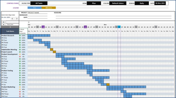 Simple Template Exle   Teacheng With Simple Excel Gantt Chart Template Free