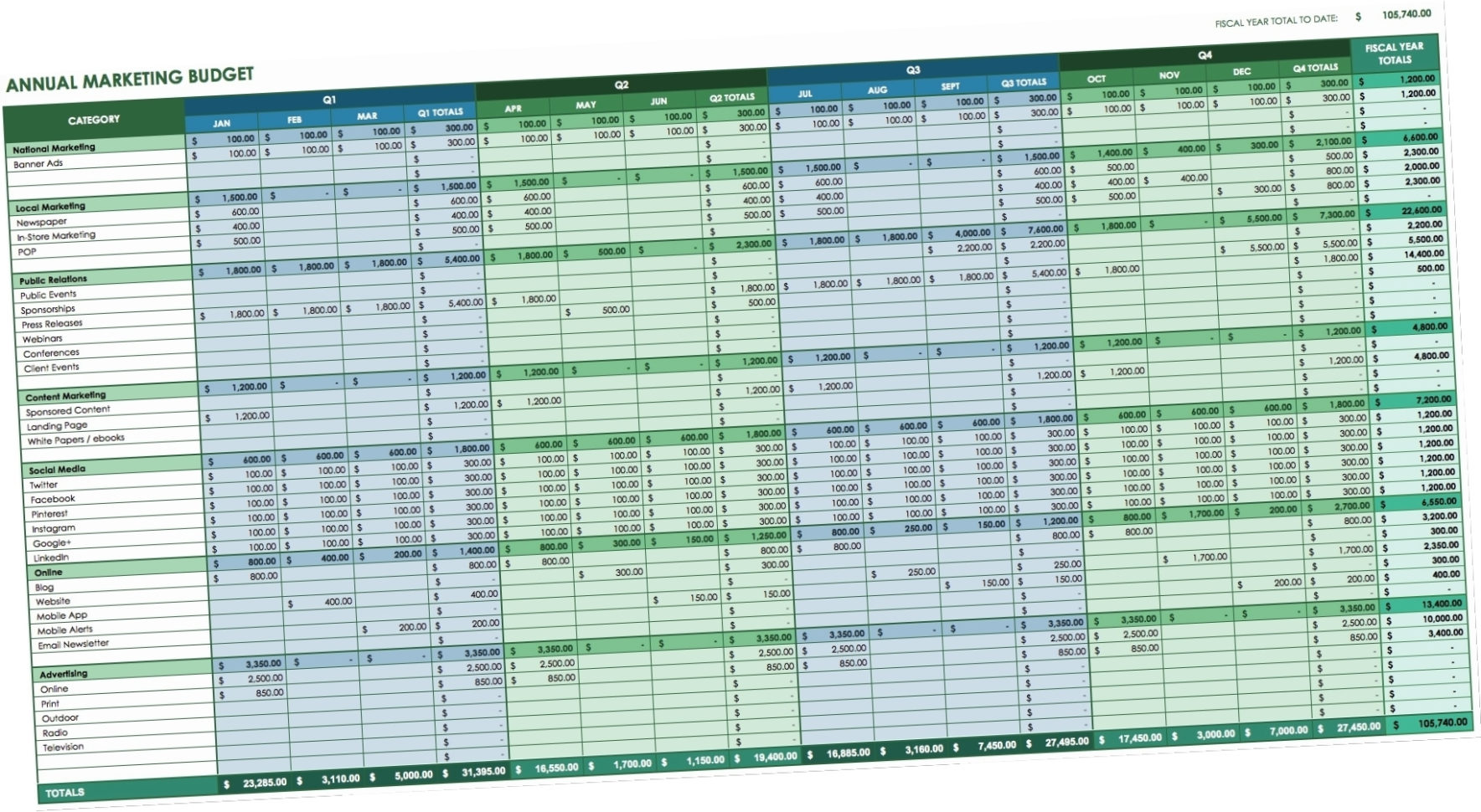 excel bookkeeping templates for small business bookkeeping