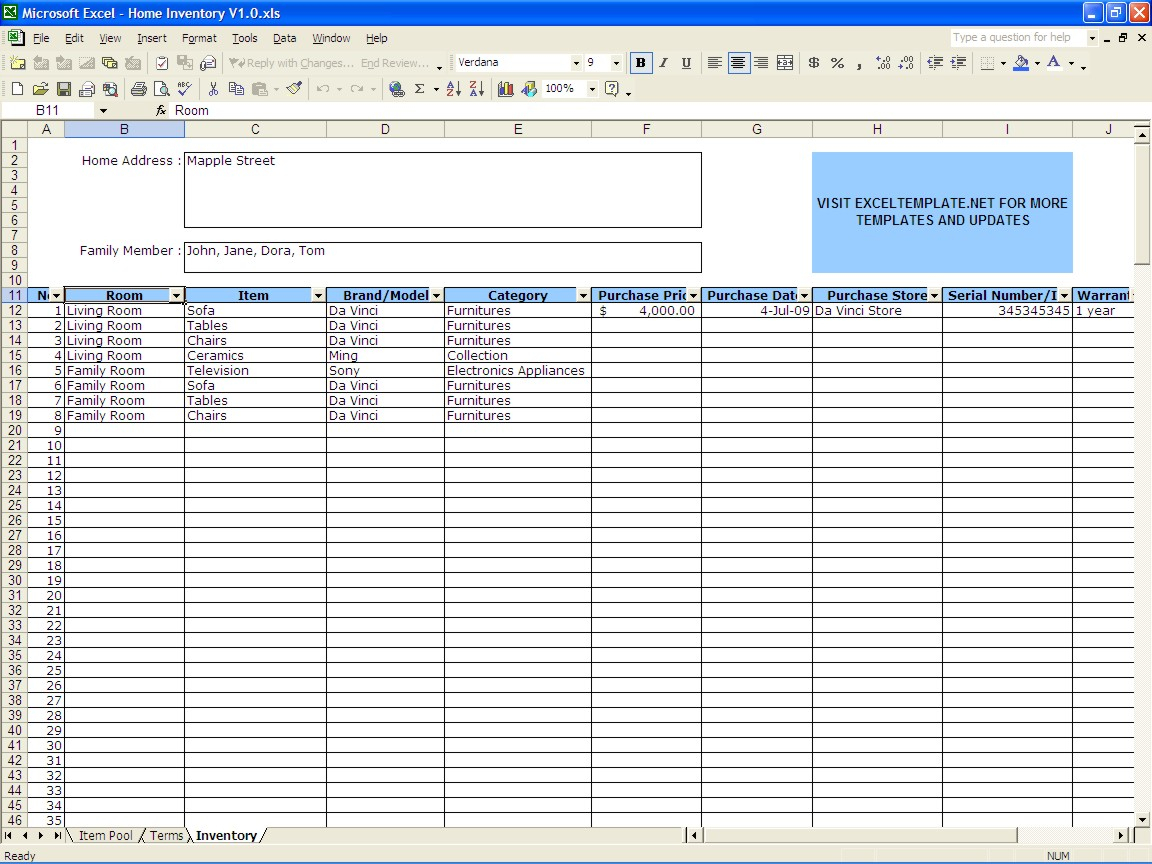 Small Business Inventory Spreadsheet Template Ashlee Club.tk And Inventory Spreadsheet Template Free