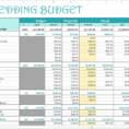 Smart Wedding Budget Excel Template Savvy Spreadsheets Intended For Intended For Wedding Spreadsheet Template