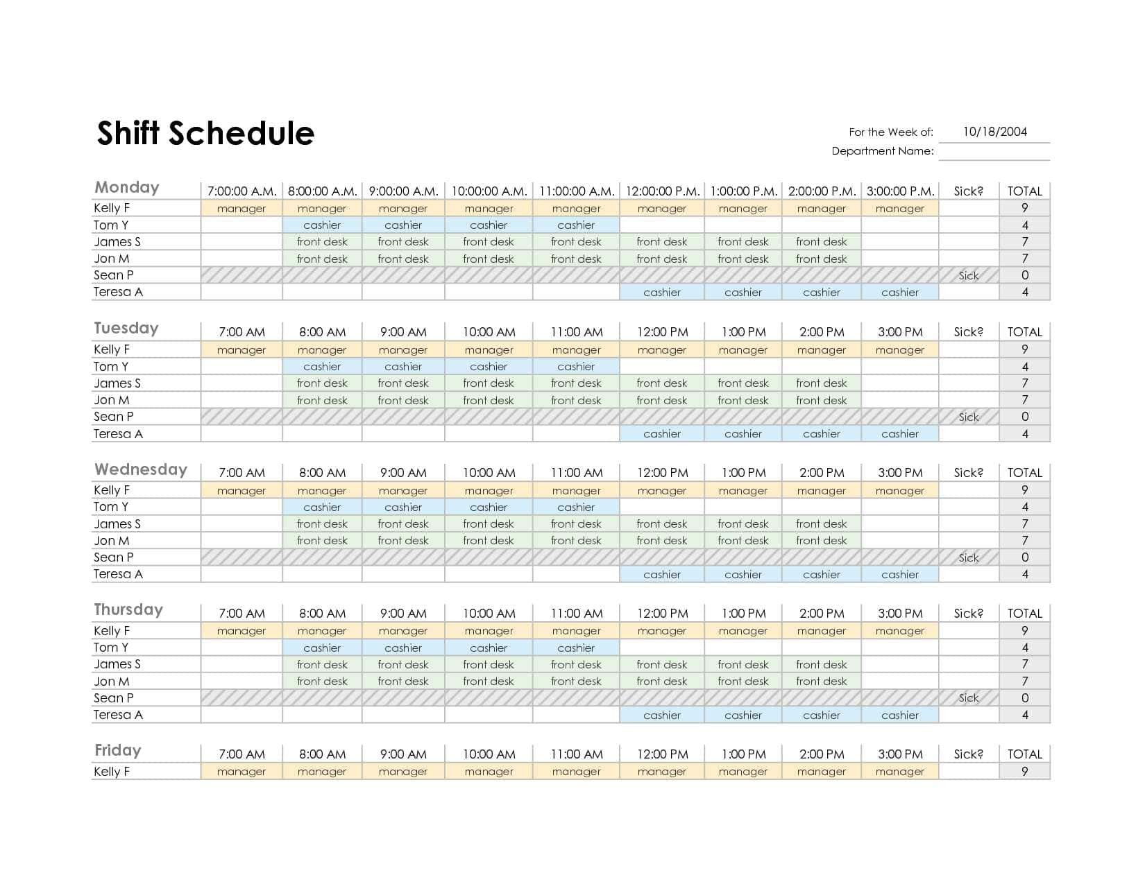 South African School Calendar 2019 Pdf Free Monthly Employee In Monthly Work Schedule Template Pdf