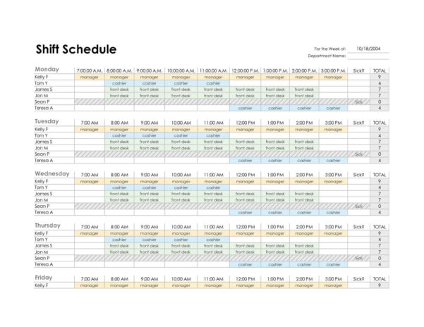 South African School Calendar 2019 Pdf Free Monthly Employee To Monthly Employee Schedule Template