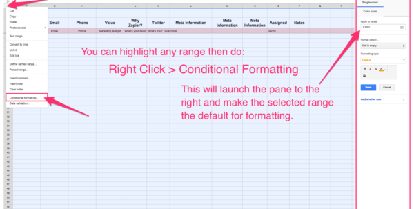 spreadsheet crm how to create a customizable crm with google sheets with customer relationship. Black Bedroom Furniture Sets. Home Design Ideas
