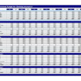 Spreadsheet Example Of Annual Personal Budget Yearly Monthly Budget1 Inside Personal Budget Spreadsheet Templates