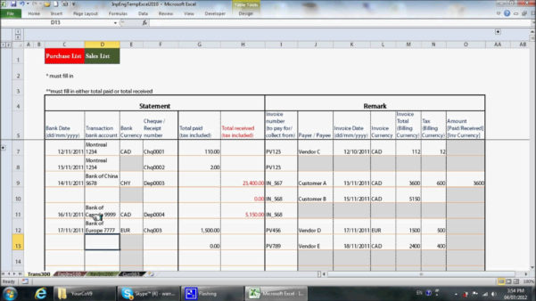 Spreadsheet Example Of Board Foot Calculator Load Calculation Fresh With Bookkeeping In Excel Tutorial
