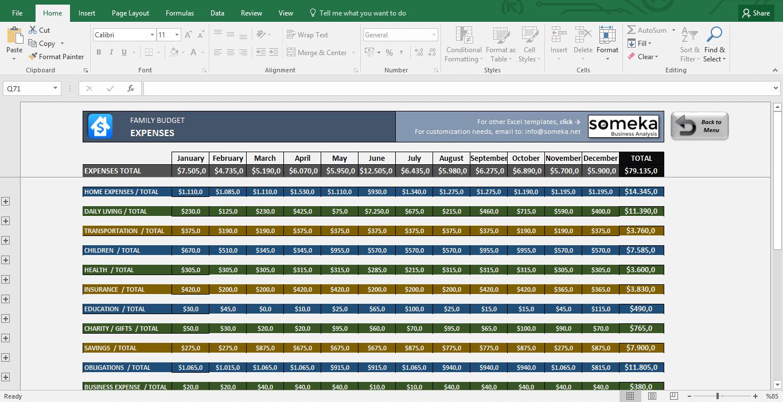 Spreadsheet For Monthly Budget Planner Elegant Family Monthly Budget With Monthly Budget Planner Template Excel