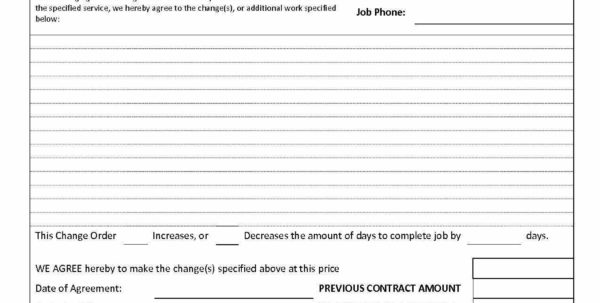 Stipulation Agreement Awesome Construction Job Estimate Template Inside Construction Job Estimate Template Free