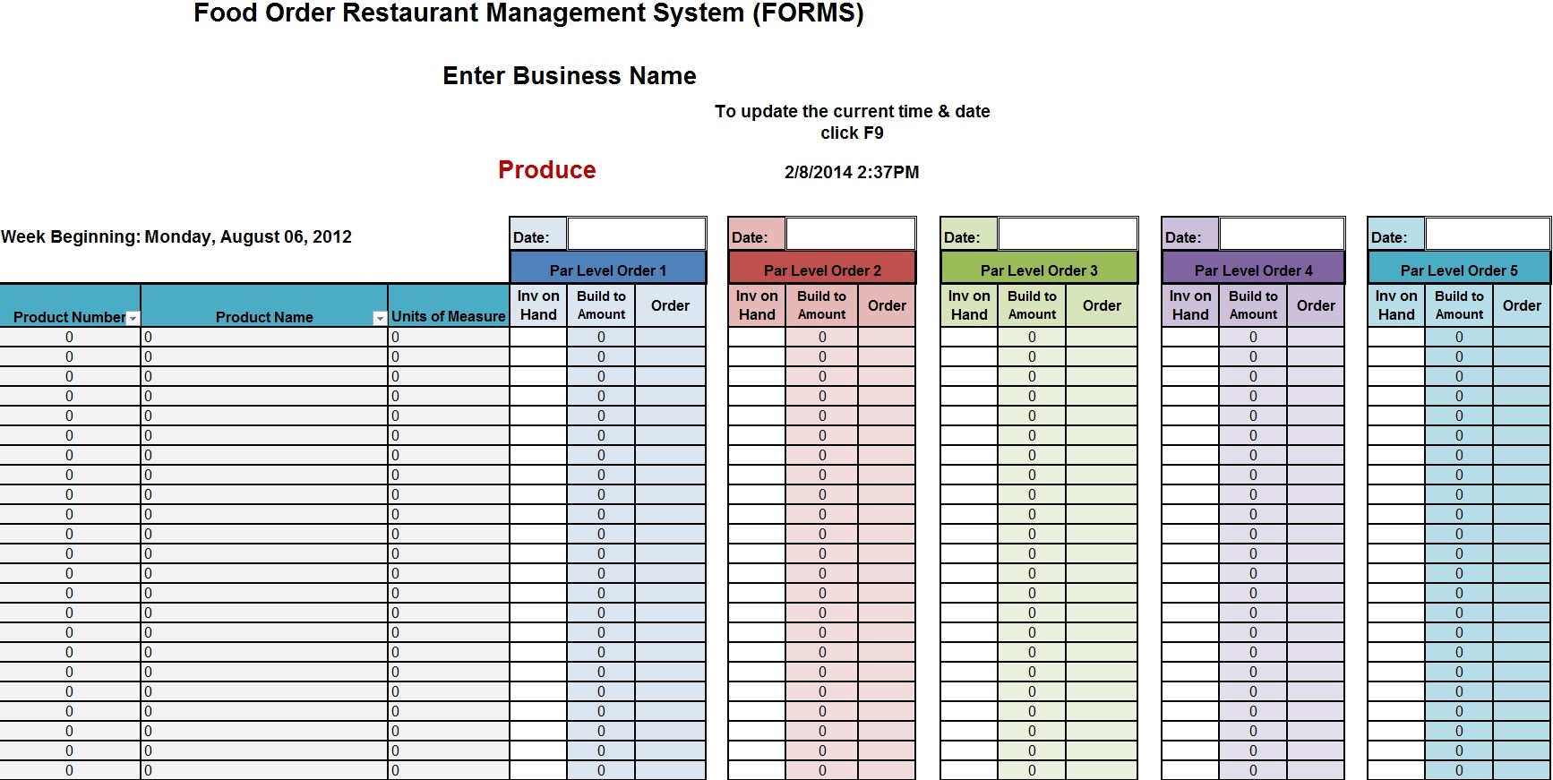 Stock Control Excel Spreadsheet Free Example Of … – Aprender In Stock Control Excel Spreadsheet Free