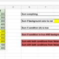 Sum If Condition Is True And Background Color Is Not   Google For Google Spreadsheet If
