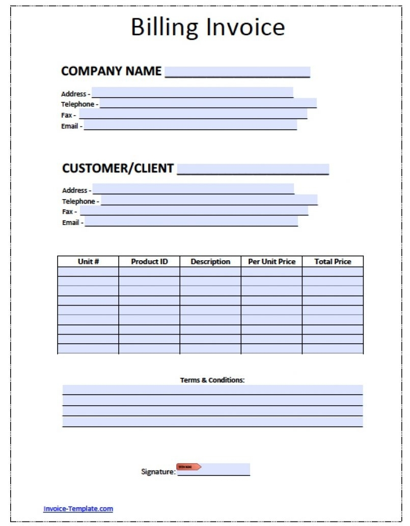 Template Free Billing Invoice Template Excel Pdf Word Doc Microsoft With Microsoft Works Spreadsheet