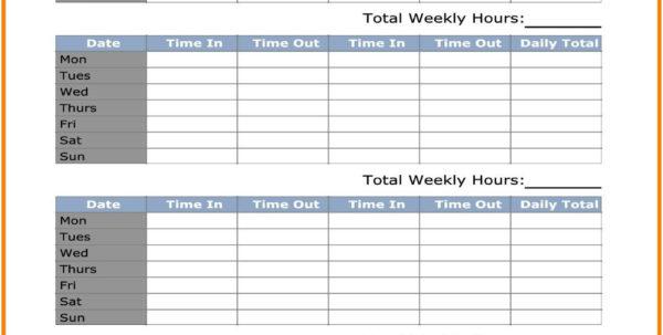 Timesheet Spreadsheet Luxury Monthly Timesheet Template – My And Timesheet Spreadsheet Template