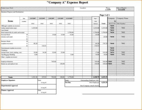 Tracking Business Expenses Spreadsheet With Tracker Monthly Business In Monthly Business Expense Template