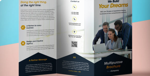 Trifold Flyer   Durun.ugrasgrup Throughout Bookkeeping Flyer Template Free
