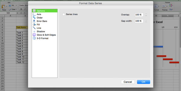 Use This Free Gantt Chart Excel Template In Gantt Bar Chart Template