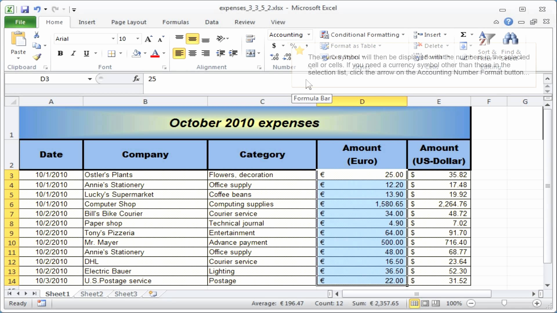 Using Microsoft Excel For Small Business Accounting Elegant Intended For Ms Excel Spreadsheet Templates