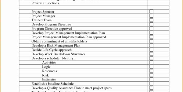 Vendor Management Checklist Template Awesome Management Review And Project Management Checklists Templates Project Management Checklists Templates Example of Spreadsheet